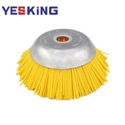 8 Zoll-Silk Nylonpinsel für Säubern-und Reinigungs-abschleifendes Ausschnitt-Rad