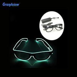 EXW цена популярных полный кадр световой индикатор очки на Рождество оформление Dance DJ и группа маячок очки Неоновые Вывески