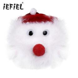 Boquilla de adhesivo reutilizable de Navidad regalos Navidad etiqueta Fiesta de Santa Claus empanadillas