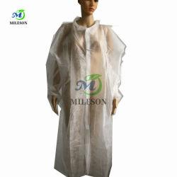 白の絵画のための非生殖不能の非編まれた使い捨て可能な実験室のコート
