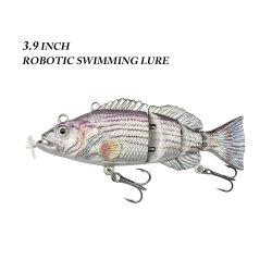 Esca ricaricabile del USB Baitartificial di piccolo nuovo di pesca di richiamo 95mm/26g richiamo automatico elettrico di nuoto