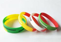 Wristband di modo del silicone dell'elastico del regalo di promozione