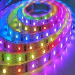 Для поверхностного монтажа RGB5050 30 светодиодов/м гибкой LED газа (G-5050-30 SMD-12V-RGB)