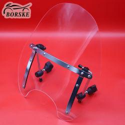 Motorrad-Bildschirm-Windschutzscheibe für Harley Kreuzer Dyna Gleiten Softail
