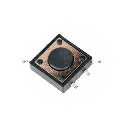 Best Seller Vertikal Push SMD Typ 12 * 12mm Schalter Reflow lötbar Tact-Schalter