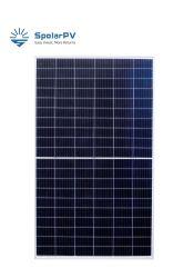 Mono Spolarpv 340W Perc la mitad de la celda Solar Panel marco negro para el Sistema Solar con TUV certificado VDE
