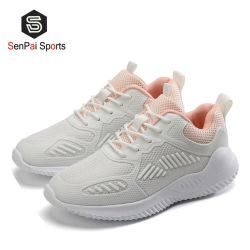 Tissu chaussures chaussures Lady Flyknit exécutant Sneakers pour les femmes
