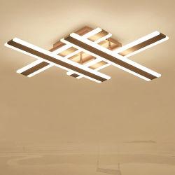 Современные LED Подсветка потолка акриловый современные лампы люстры подвесной кронштейн для спальни