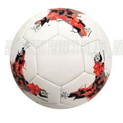 Leer Voetbal Ball-Training Voetbal Ball-PU Voetbal Ball