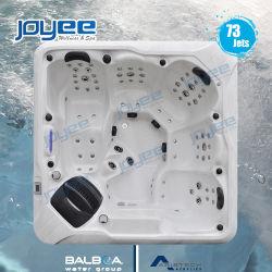 Joyee роскошь нового акрилового волокна спа Бальбоа системы горячая ванна спа с крышкой/Шаг джакузи