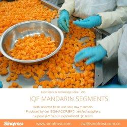 Buona qualità, prezzi bassi, segmenti del mandarino di IQF, segmenti congelati del mandarino, segmenti dei mandarini di IQF, segmenti congelati del mandarino (90/10, 80/20, 50/50)