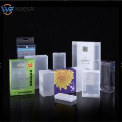 La formación de vacío cosméticos transparente embalaje blister PP Pet PVC rígido escamoteable Caja de almacenamiento