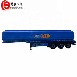 3축 디젤 연료 저장 탱크 운송 오일 탱커 트레일러