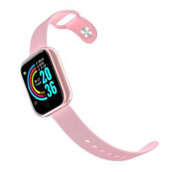 Y68 менее чем на 5 оптовых дешевые органа артериального давления RoHS моды Bluetooth женщин Цифровой электронный сенсорный экран для мобильных ПК на базе Android спорта Smart запястья подарок наручные часы