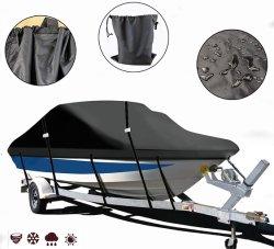 ボートカバーは V ハルセンターコンソールにぴったりです。ボートフィッシングボート