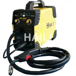 110V нет газа для сварки плавящимися Gasless IGBT провод автоматической подачи потока Инвертор сварочного аппарата Переносной сварочный аппарат миг-160fs