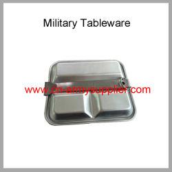 Bon marché de gros de la Chine en aluminium de l'armée de l'acier des kits de mess de la Police militaire