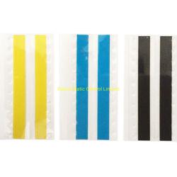SMT Doppelt-Spleißstelle nimmt gelbes Blaues und schwarz auf Band auf