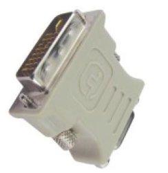 DVI Male naar D-SUB 15pin Female adapter