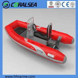 10,5 pies de aluminio de 3,2 m de la velocidad del motor de inflables deporte costilla barco fluvial/rígidos.