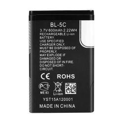 заводская цена Bl-5c 3,7 600 Мач всего 2,22 wh подходит для мобильного телефона аккумулятор перезаряжаемый аккумулятор для мобильного телефона