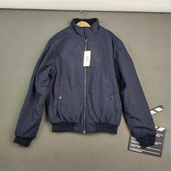 Water-Repellent wind jacket Chaqueta de forro polar reversible con abrigo de lana azul marino para el exterior