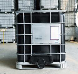 De HDPE tanque de armazenagem, Bloqueio de luz de cor preta depósito 1000L, depósito de plástico, tanque de estocagem intermediária para a água e o Armazenamento de Produtos Químicos e transporte