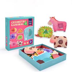 Hersenen-Ontwikkelde Stuk speelgoed van het Document van de Figuurzaag van het Document van het nieuwe Product het Gerecycleerde Raadsel