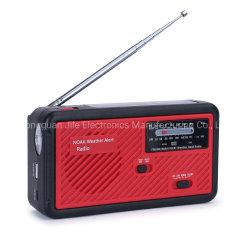 Best Manivela de emergência com Rádio FM Rádio Am lanterna LED 1000mAh banco de potência para iPhone/Telefone smart