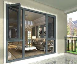 Liga de alumínio Custom abrir portas e janelas de vidro corrediço de porta, filtragem de vidro temperado de alumínio de dupla camada de isolamento sonoro Yg-S092805