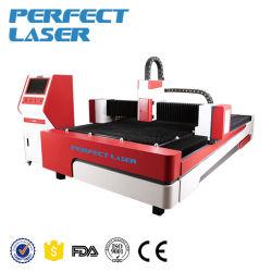 De Scherpe Machine van de Laser van de Vezel van het Metaal van de hoge snelheid 500W