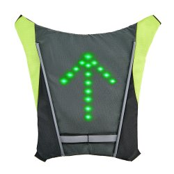 Outdoor Sport Sinal LED Light andar bike Vest (RS-1904290)