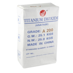 Anatase Titandioxid A200 für Lebensmittel-Zusatzstoff