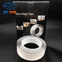 Nano bande bande recto-verso, lavable Gel réutilisables Nano Pad