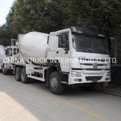 6X4 Sinotruk HOWO Hormigonera Camión para transporte de cemento