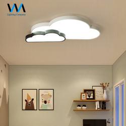 Doble habitación del bebé minimalista forma de nube de la luz de la habitación de techo LED de iluminación