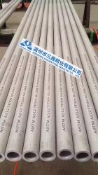 Aço inoxidável Sanxin Premium tubo sem costura EN10216-5 Grau 1.4845