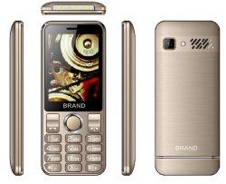Boîtier métallique 2.8inch Fonction téléphone avec 1600mAh Batterie de l'usine chinoise