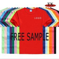 Maglietta personalizzata dei vestiti di promozione di stampa del cotone di marchio