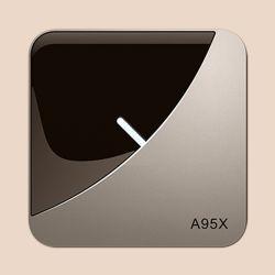 Nouvelle arrivée A95X F3 Full HD 1080p Kd 18,0 Amlogic S905X3 Android TV Box WiFi 2.4G Media Player avec USB 3.0