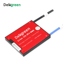 12s 25A 35A 45A 60A 36V PCM/PCB/BMS Common Port für 3,7 V Lincm Battery Pack 1865 Lithium-Ionen-Batteriepack Protection Board