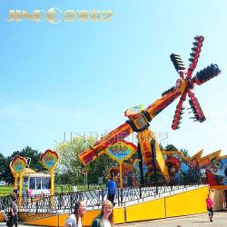 고품질 Funfair 상단 검사 위락 공원은 판매를 위한 극단적인 게임 속도 풍차 탐을 탄다
