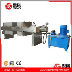 فلتر الغشاء الهيدروليكي PP ماكينة ضغط مع فلتر مفتوح في الصين