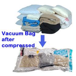 枕真空バッグのMatterss圧縮された袋の真空スペース袋