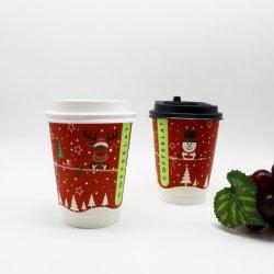 أكواب ورق فضية قهوة إسبريسو للاستخدام مرة واحدة