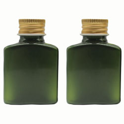 [تونر بوتّل] [30مل] محبوب زجاجة بلاستيكيّة [سكينكر] يعبّئ مع نوع ذهب ألومنيوم غطاء