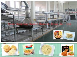 Non-Fried fideos instantáneos de la ronda de la línea de producción/Automático de fideos instantáneos Línea de producción/Maquinaria de fideos/máquina de hacer Fideos Fideos/línea de fabricación