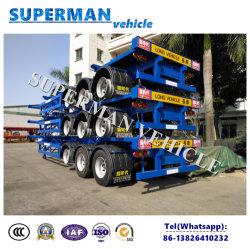 熱い半販売40FTの骨組フレームの容器のトラックのトレーラー