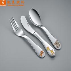 中国の供給者は滑らかなステンレス製の食器を家庭で薄板にする