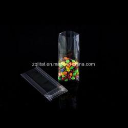 Sacchetto di plastica dell'alimento del rinforzo di OPP del rinforzo laterale trasparente della parte inferiore